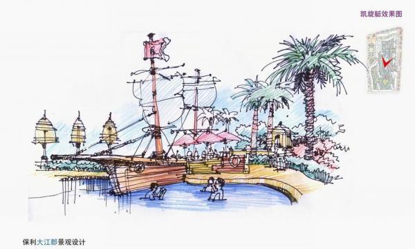 柳州手绘图全景高清
